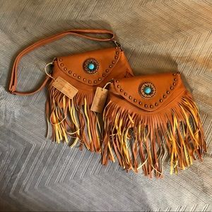 Canyon Sky fringe purses